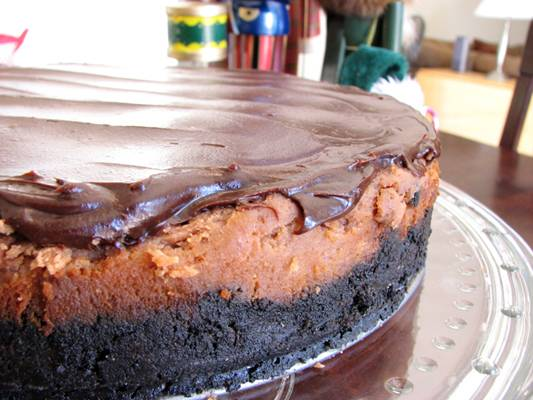 Cafe Mocha Chocolate Cheesecake Recipe