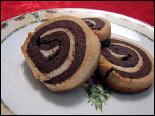Chocolate Pinwheel Cookies Recipe