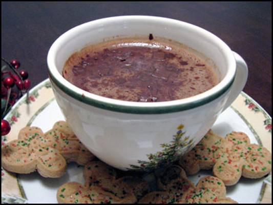 Sinfully Good Hot Dark Chocolate Recipe