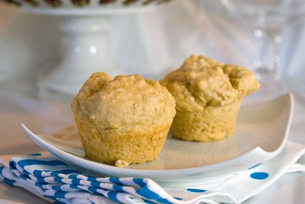 3 ingredient muffins - One is beer. Perfect!