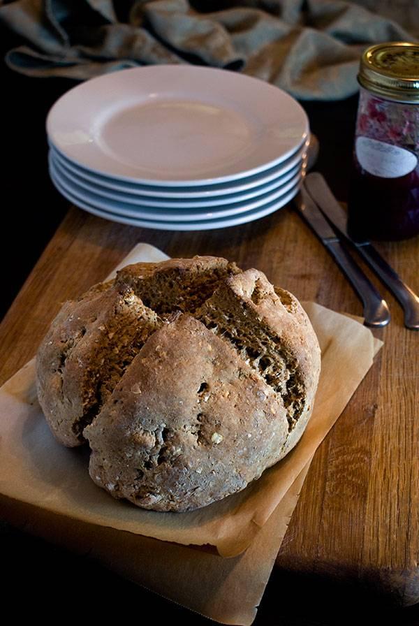 Brown Soda Bread with Molasses