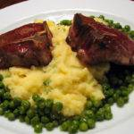 Lamb with Champ and Mint Peas Recipe