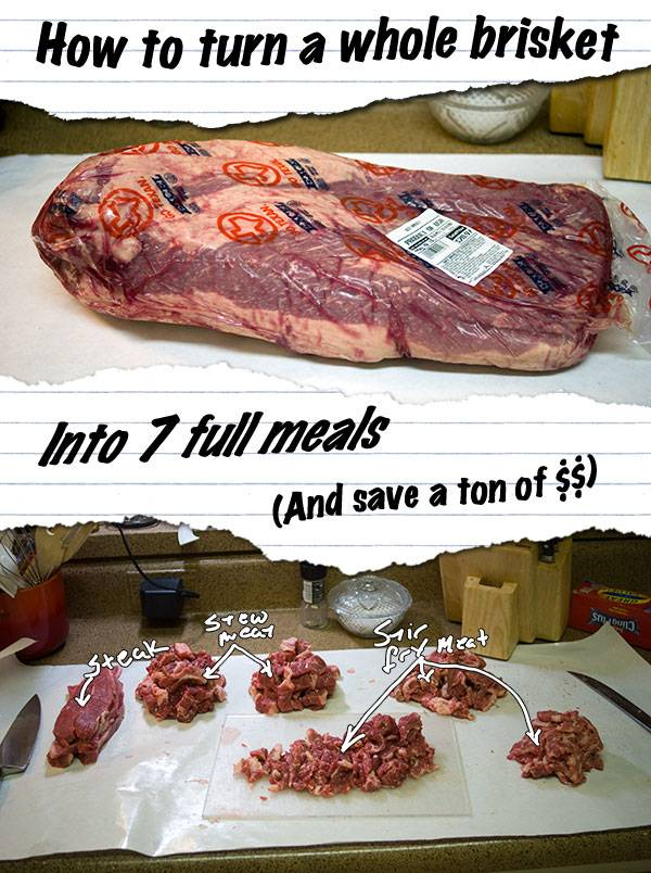How to turn a whole beef brisket and save a ton of $$