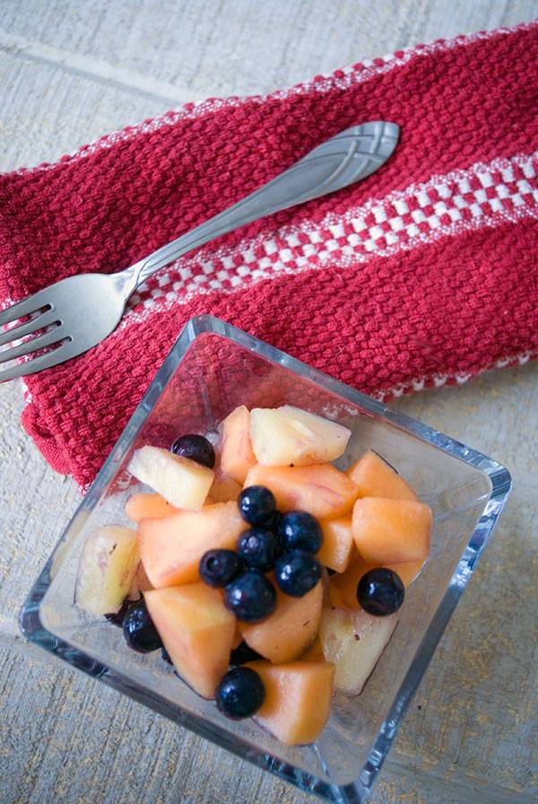Blueberry and Pineapple Salad