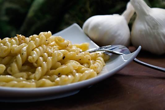 Buttery Garlic Pasta