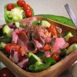 Gazpacho Steak Salad Recipe