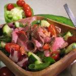 Gazpacho Steak Salad Recipe