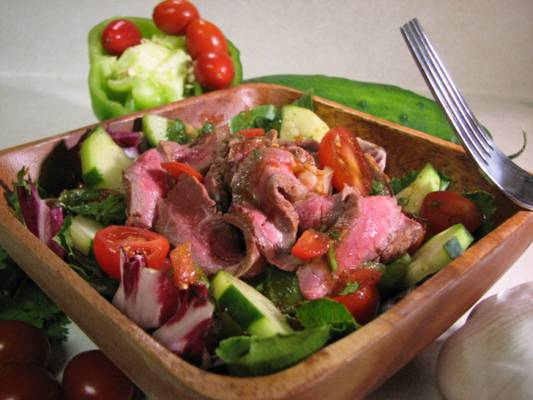 gazpacho-steak-salad