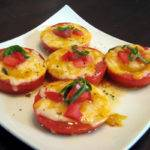 Baked Tomatoes with Colby, Jack and Basil Recipe