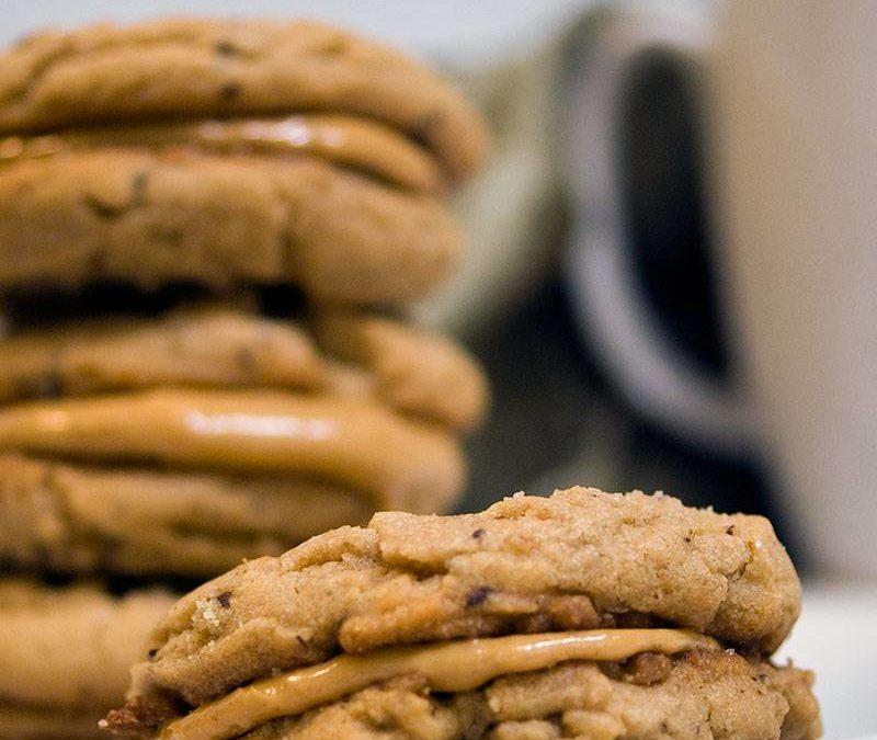 Peanut Butter Cup Sandwich Cookies Recipe