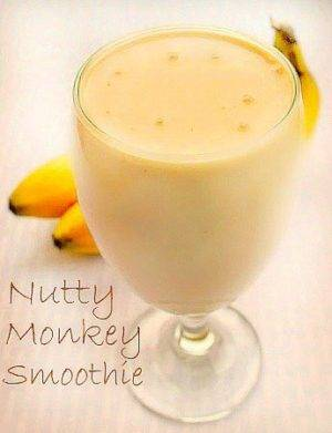 Nutty Monkey Smoothy