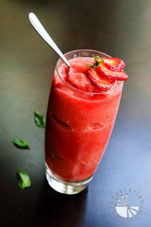 Watermelon Strawberry Mint Freeze
