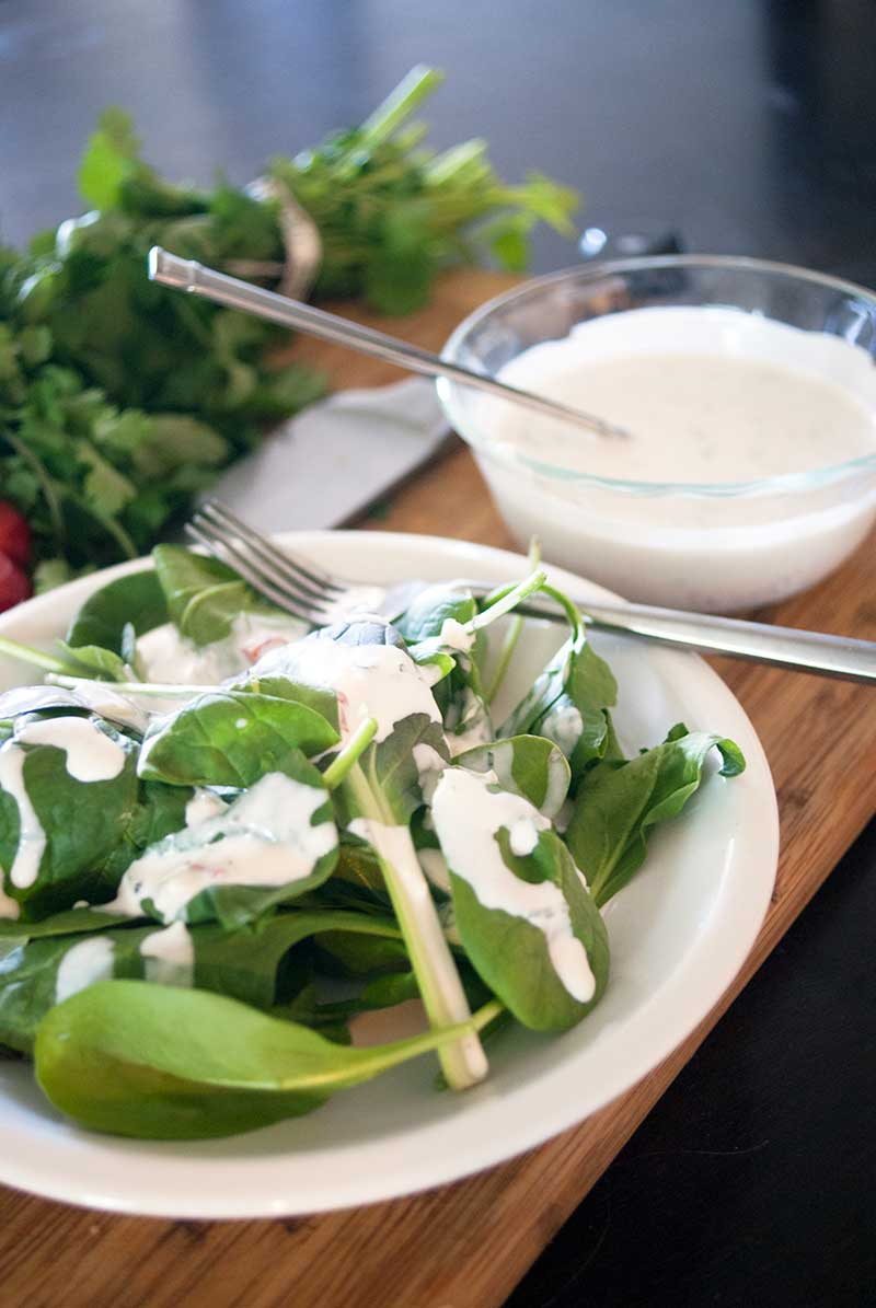 Homemade Ranch Dressing Recipe – Deliciously Simple