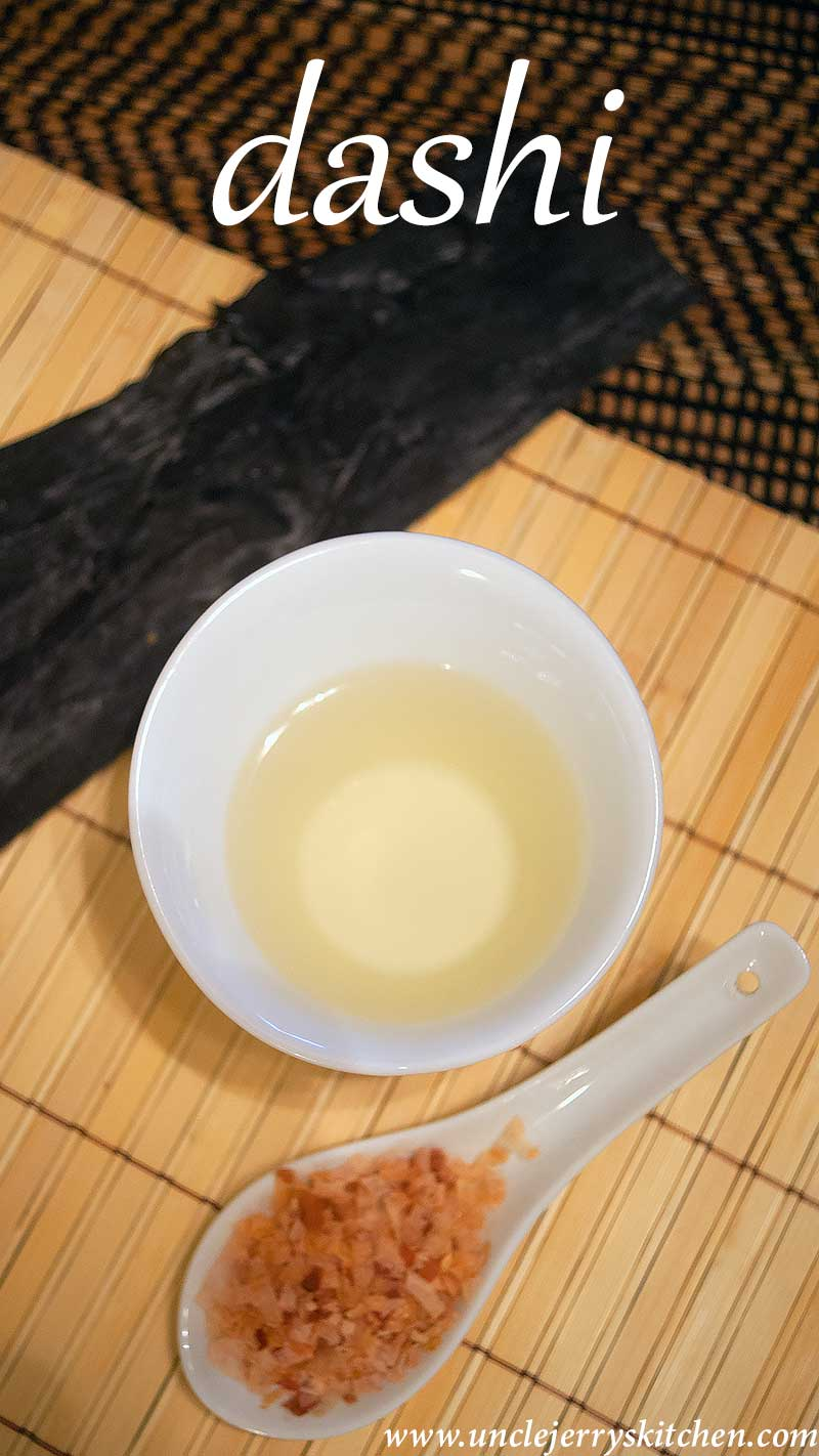 Awase Dashi Recipe made with Katsuobushi (boito flakes) and kombu