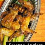 Sesame Apricot Chicken Wings  Recipe – Game Day Goodness