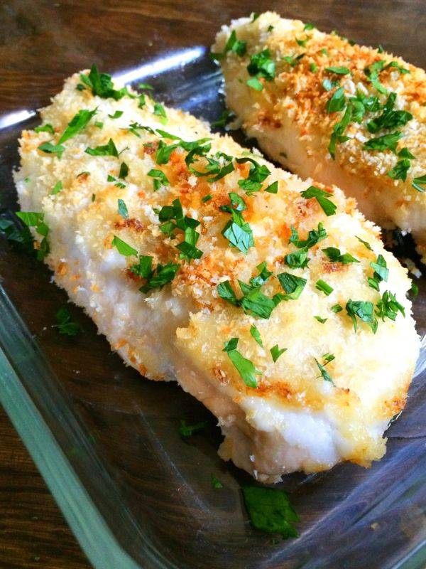 Crispy Garlic Baked Chicken Breasts