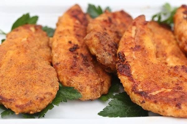 "Super easy oven Fried healthified KFC ""Copycat"" Chicken!"