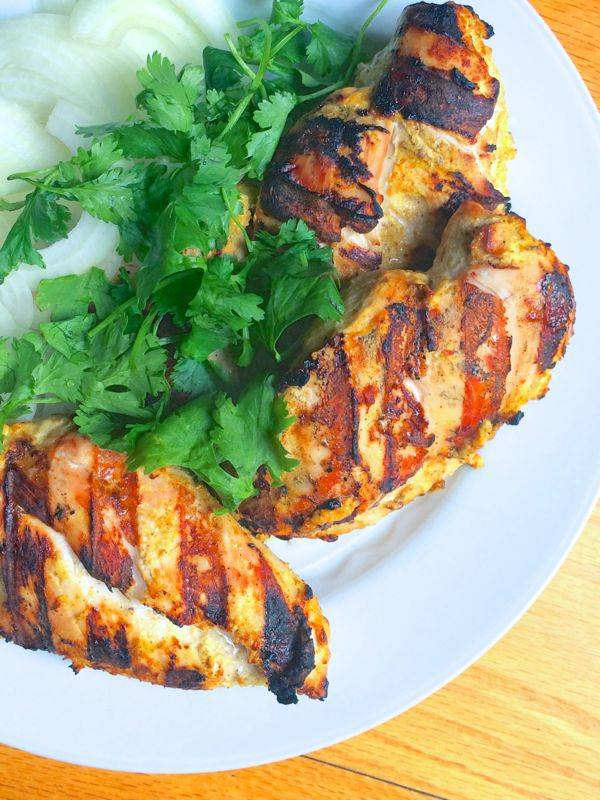 Indian Spice Grilled Chicken