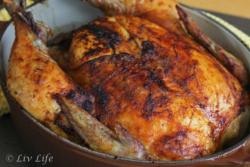 Roasted Whole Chicken with Smoked Paprika: - 100 easy chicken recipes