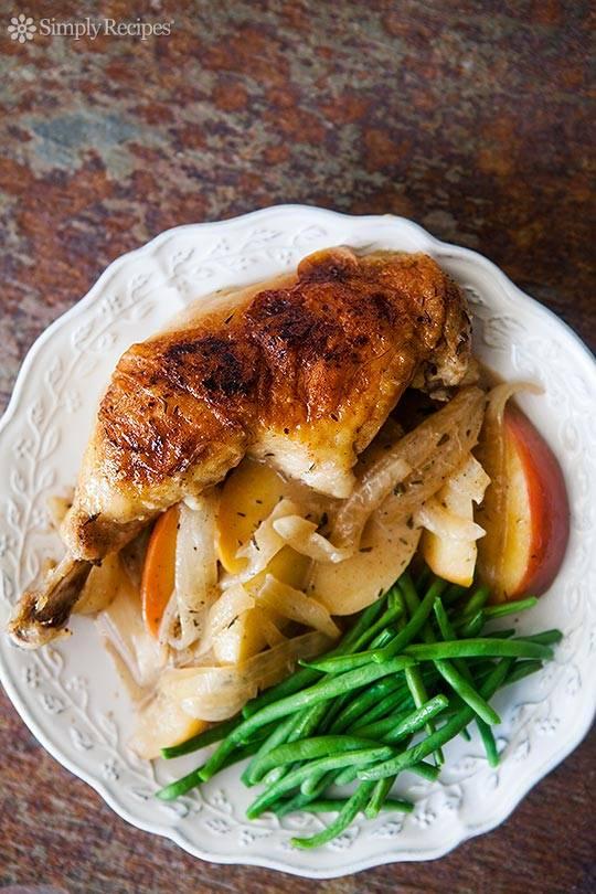 Chicken Normandy - 100 easy chicken recipes