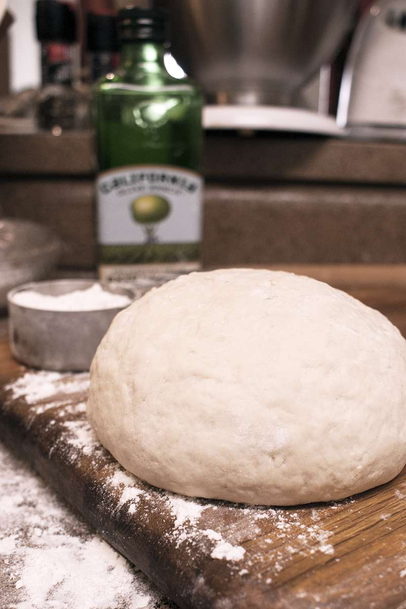 5 Minute Pizza Dough Recipe (No Rise, No Knead Dough)
