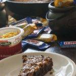 Butterfinger Skillet Brownies
