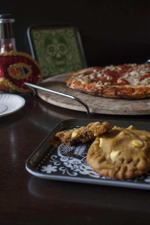 Pumpkin Spice Crunch Empanada Cookies