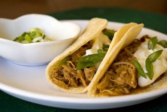 Leftover Turkey Tacos. A Southwestern spin on traditional holiday leftovers.