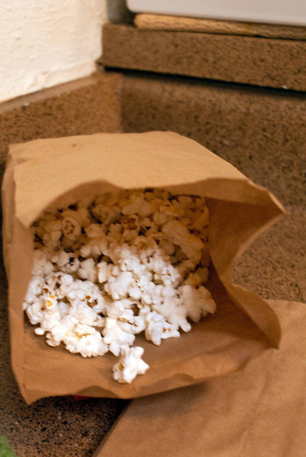 Homemade Microwave Popcorn & A Family Movie Night with ...
