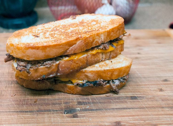 Roast Beef Melt Sandwich