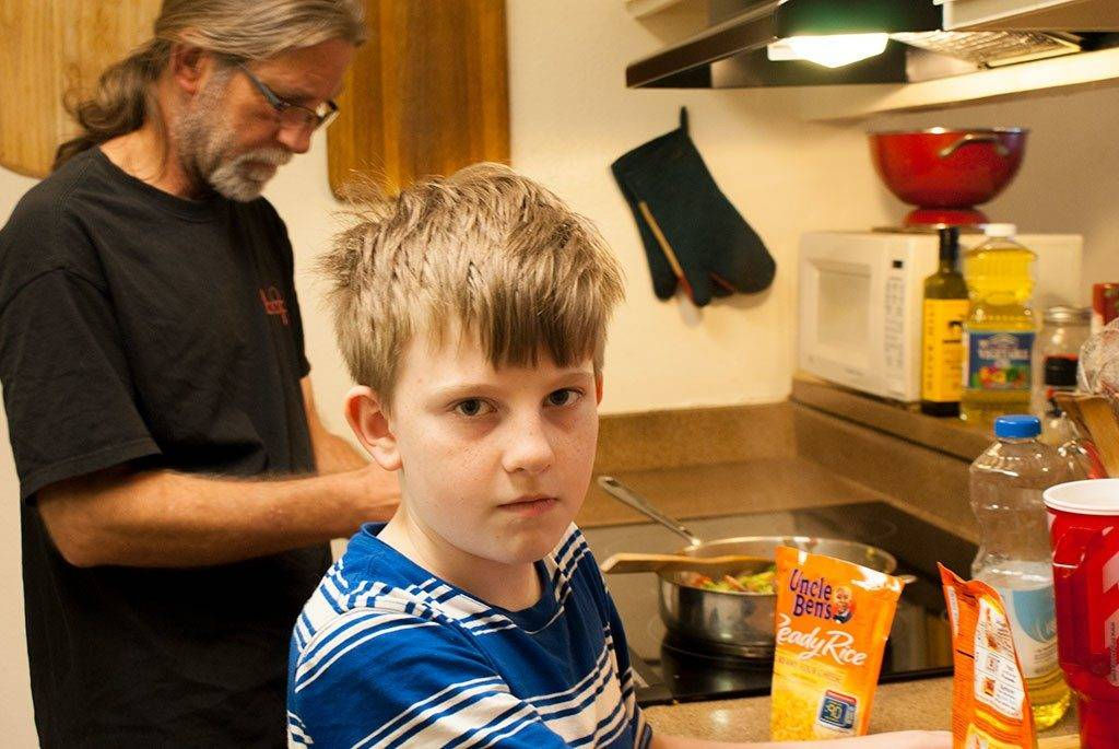 Someone is looking impatient @UncleBens #BensBeginners #UncleBensPromo [ad]