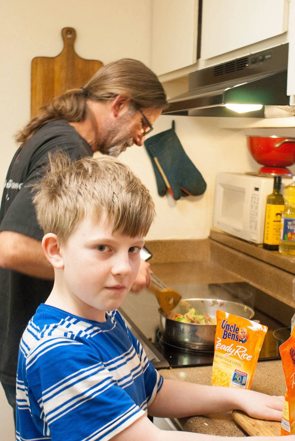 Almost time to add the Uncle Ben's Rice @UncleBens #BensBeginners #UncleBensPromo [ad]