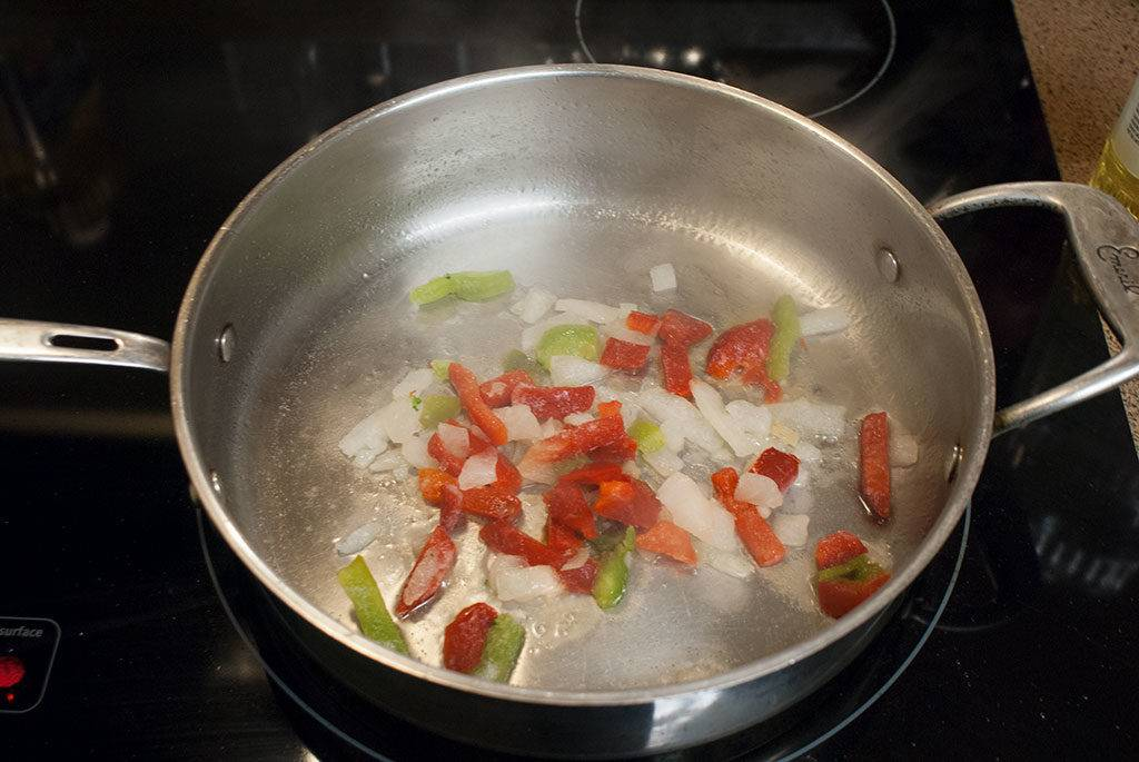 Peppers Cooking
