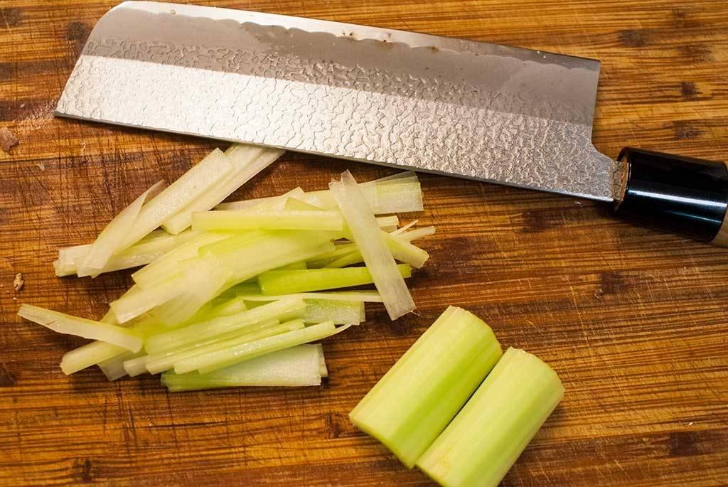 shred-celery