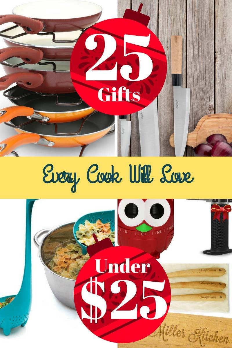 25 Gifts Every Cook Will Love For Under $25.00 – 2016 Edition