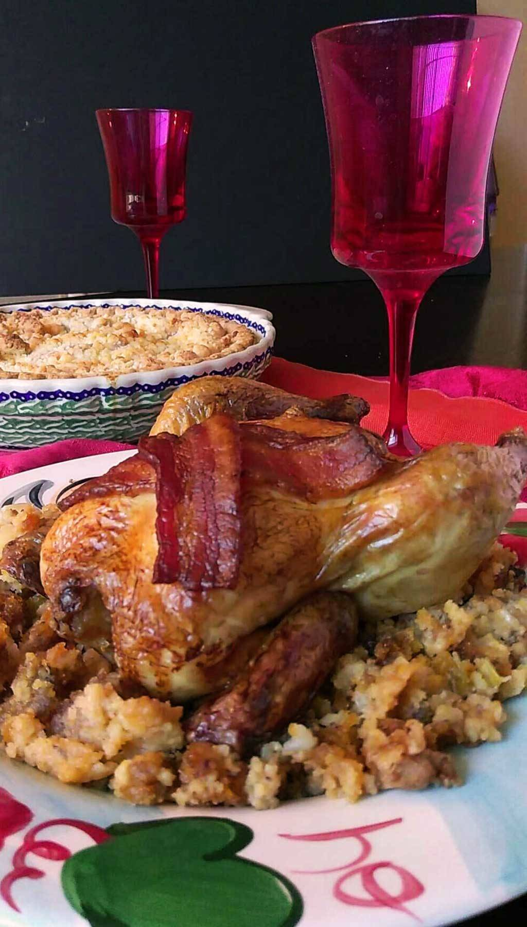 [ad] Cornish Hens with Sausage Stuffing – A Holiday dinner meal plan #LoveThisHolidayTwist