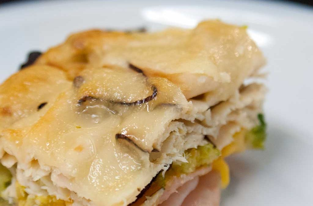 Ham, Turkey, Broccoli and Cheese Casserole – A simple family meal