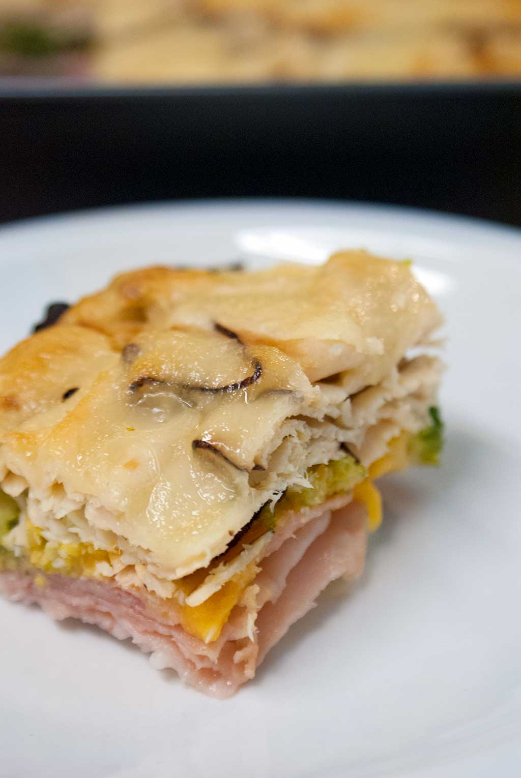 ham turkey broccoli and cheese casserole a simple family meal