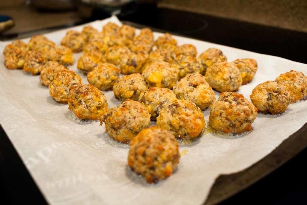 Southern Sausage & Cheese Balls
