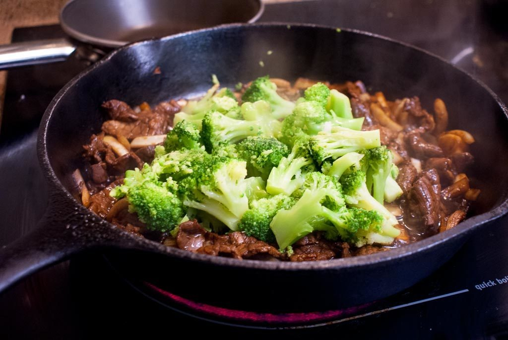 Broccoli Beef is a favorite at Chinese Restaurants, but you'll flip for this Japanese inspired version