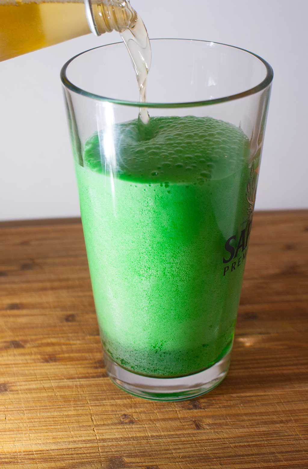 Green Beer – How to make your own St. Paddy's Day green beer.