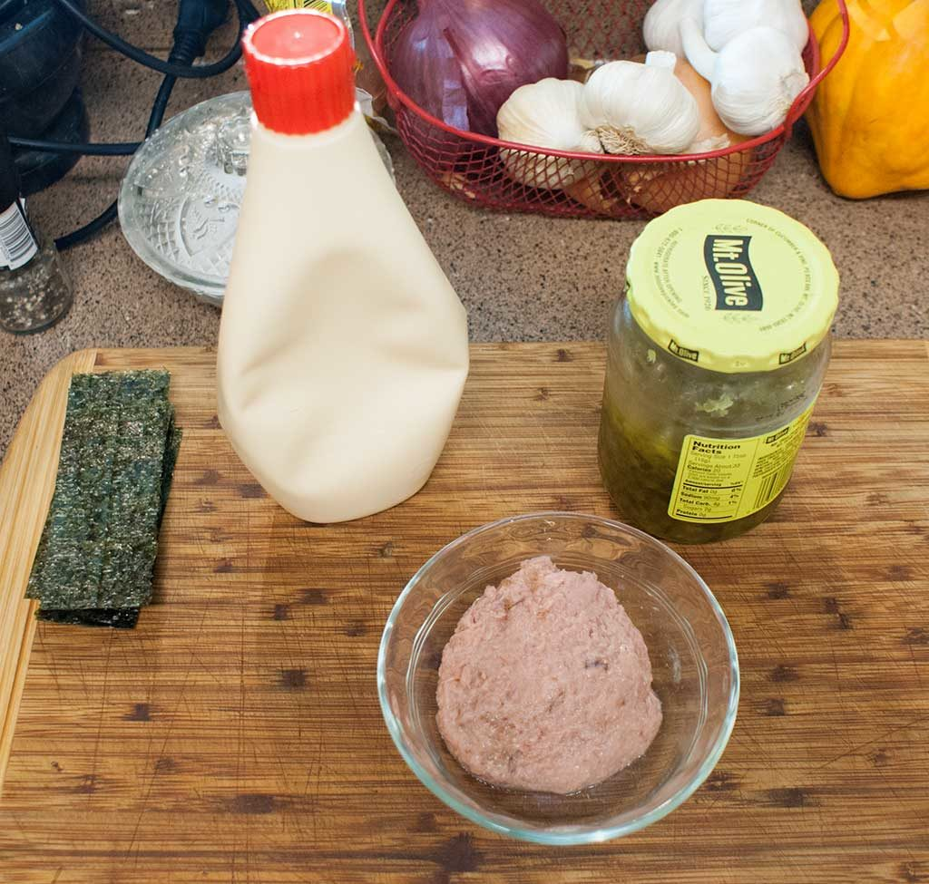 tuna filling ingredients