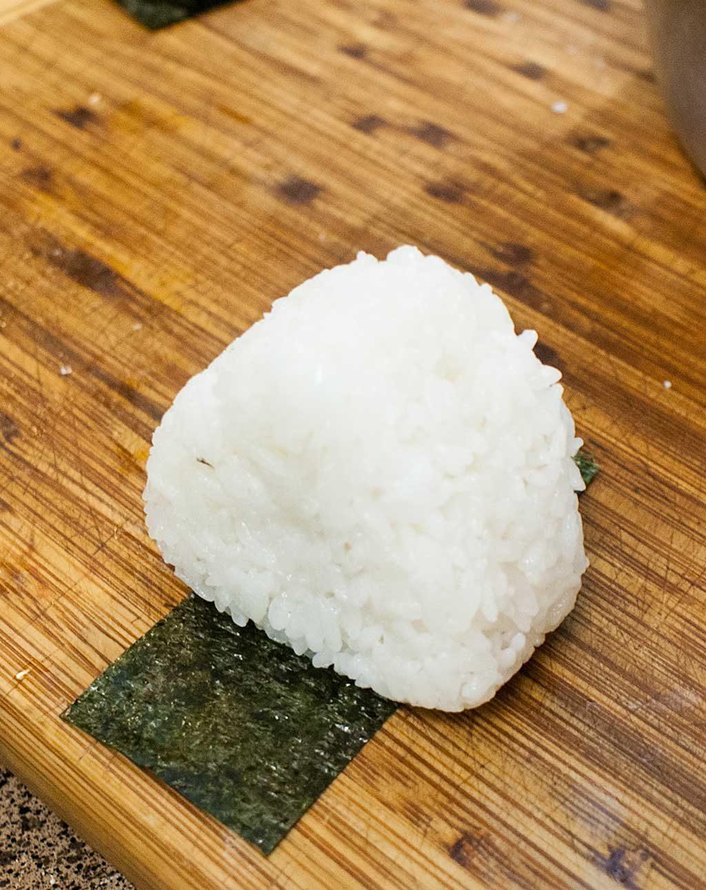 Onigiri needs nori!