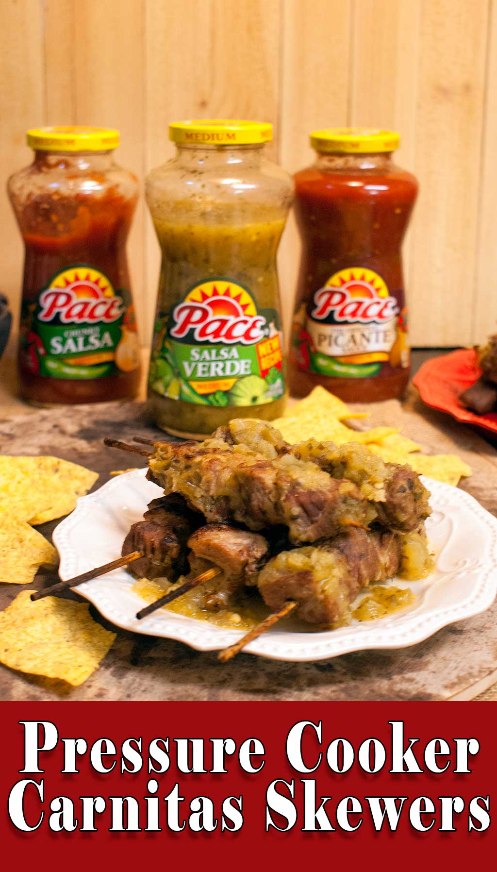 Pressure Cooker Carnitas with Salsa Verde – Perfect for Game Time