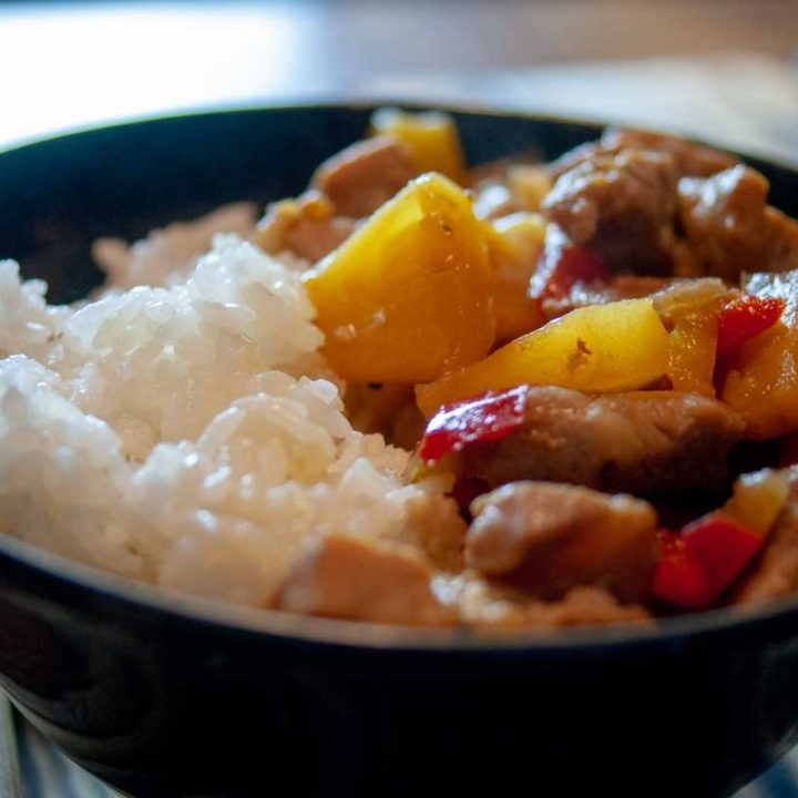 Pork And Pineapple Rice Bowls A Fast Delicious Meal For Any Day Of The Week