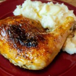 Plum Glazed Chicken Leg Quarters