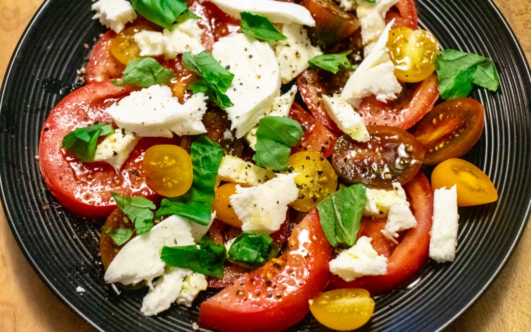 Caprese Salad – A modern take on a classic summer salad