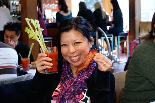 Bacon Straws for Jaden