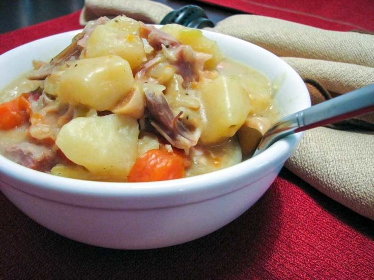 Leftover Turkey Stew Recipe