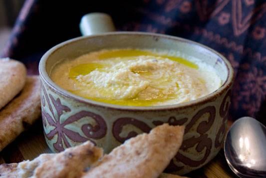 Turkish Style Hummus